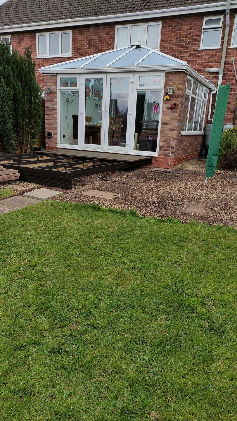 <p>Wanting to make the most of his garden, Colin from Worcester created his own outdoor decking area. </p><p>He says: 'I renewed my decking area, and although there was hardly any wood available during the lockdown, I still managed to get the job finished.'</p>