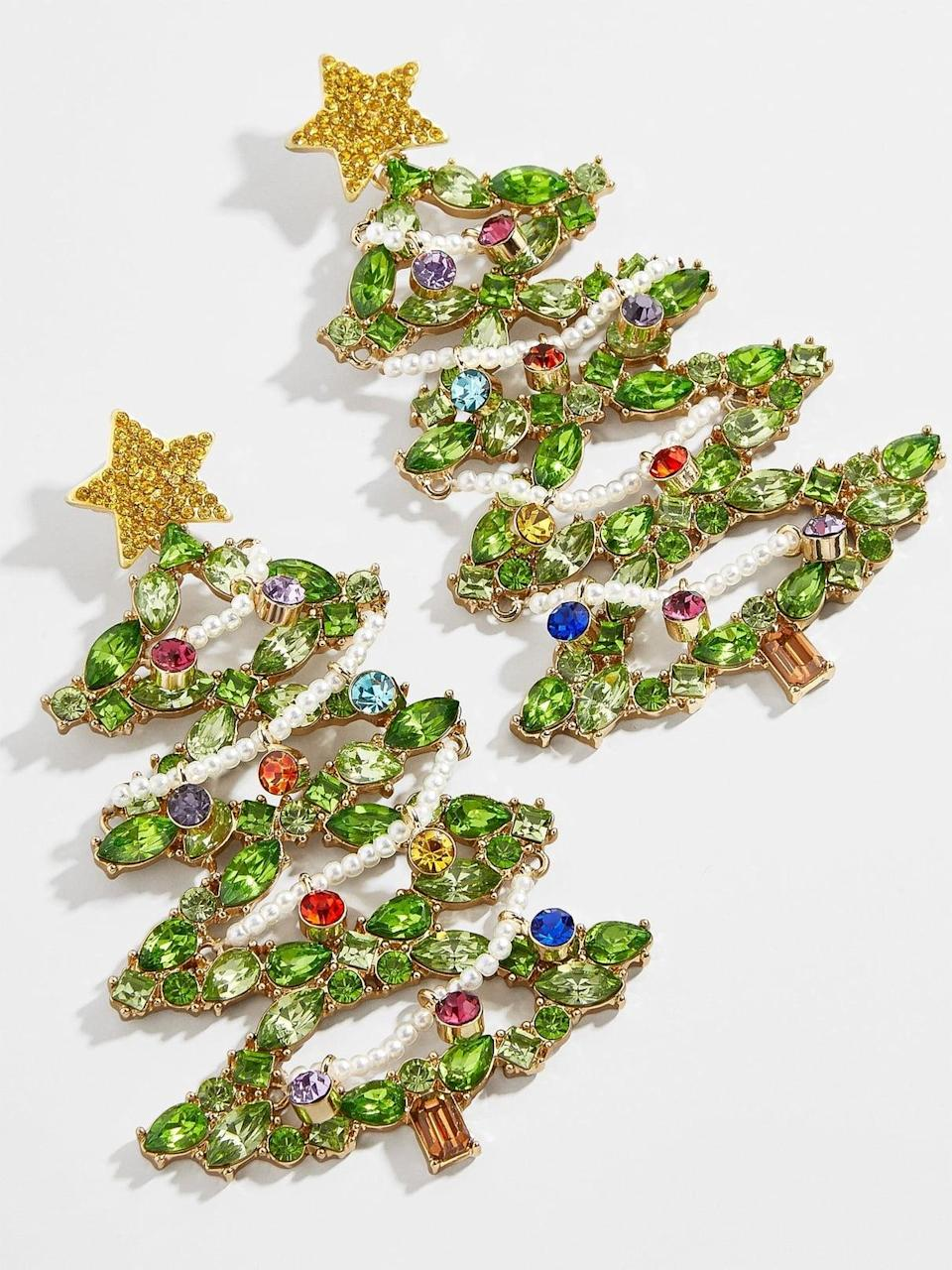 <p><span>Deck the Halls Earrings</span> ($58)</p>