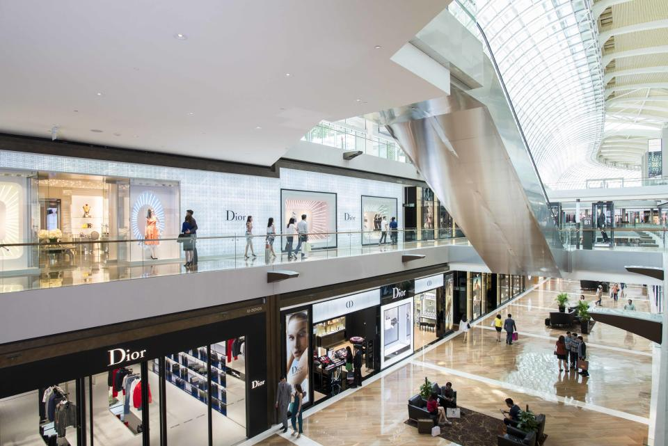 Galleria Level, B1. (PHOTO: The Shoppes at Marina Bay Sands)