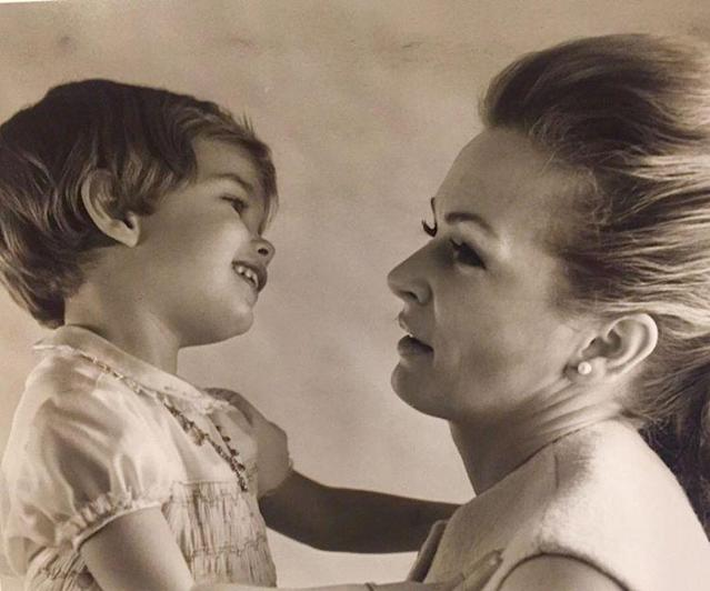 "<p>The model turned actress — who has two daughters of her own — shared a photo of her as a little girl looking adoringly at her mom, Teri: ""Pure adoration! I love you Mom. (Photo: <a href=""https://www.instagram.com/p/BUE5K50Aqve/"" rel=""nofollow noopener"" target=""_blank"" data-ylk=""slk:Brooke Shields via Instagram"" class=""link rapid-noclick-resp"">Brooke Shields via Instagram</a>) </p>"