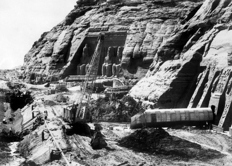 When Egyptian president Gamal Abdel Nasser determined to dam the Nile in the 1960s, an enormous international operation was launched to rescue the twin great temples of Abu Simbel from the rising waters of what is now Lake Nasser