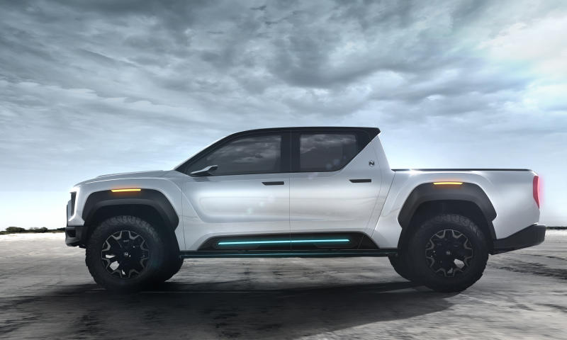 Nikola Motor Badger electric truck