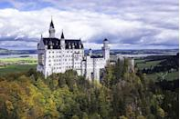 <p>Have you ever wondered where Walt Disney got the inspiration for the iconic castle in the heart of Disneyland? Well, you're looking at it! Nestled in the Bavarian Alps sits this beautiful 19th-century abode that was originally home to King Ludwig II.</p>