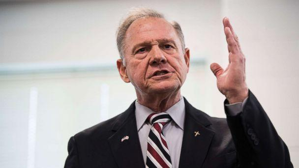PHOTO: GOP candidate for U.S. Senate Roy Moore speaks during a candidates' forum in Valley, Ala., on Aug. 3, 2017. (Bill Clark/Getty Images)