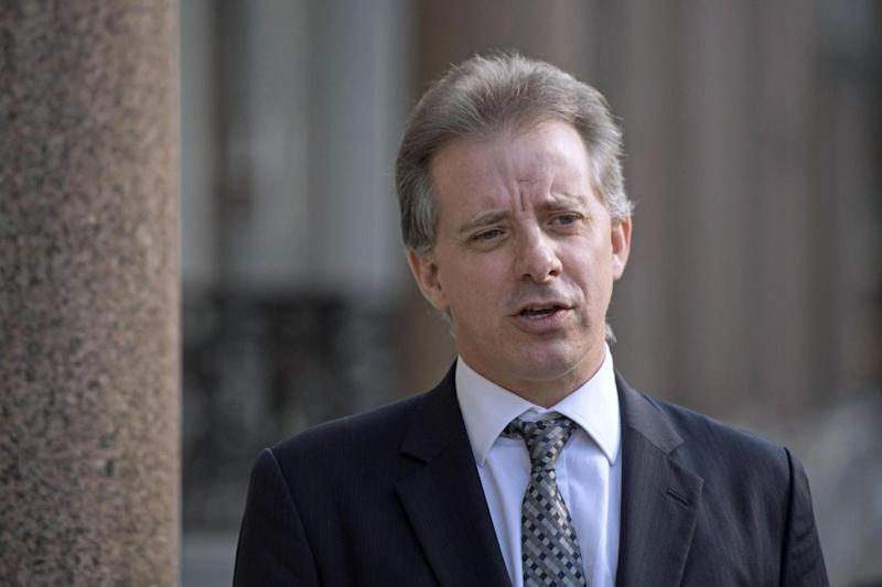 Returning to work: Former MI6 agent Christopher Steele who compiled a dossier on Donald Trump (PA)