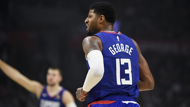 How did Paul George score 70 points in 44 minutes? 'I got new shoulders'