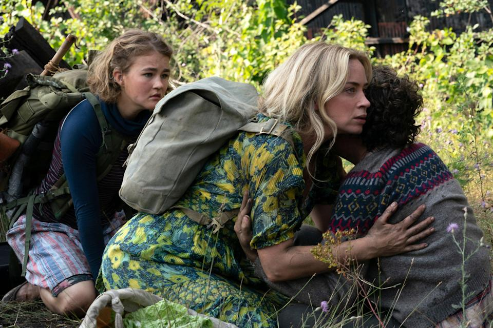 A Quiet Place Part II will only be released in cinemasAP