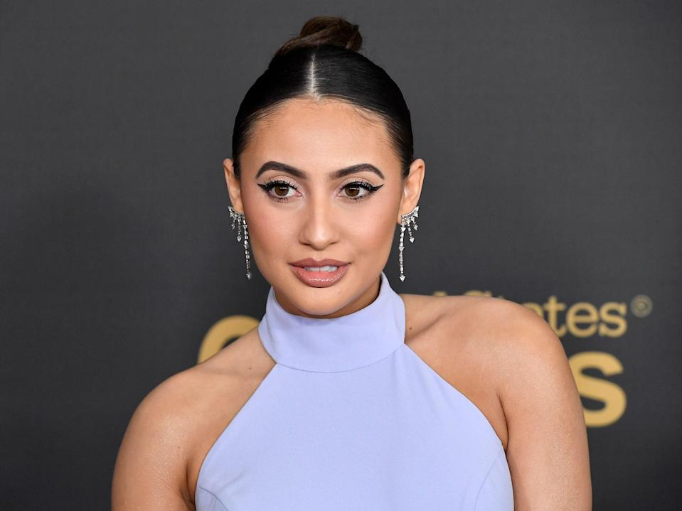 Francia Raisa at the 51st NAACP Image Awards on 22 February 2020 in Pasadena, California (Frazer Harrison/Getty Images)