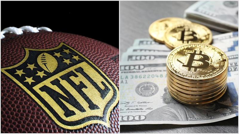 The NFL can't see that they would be doing players a favor by letting them save and grow their earnings in crypto. | Source: (i) Shutterstock (ii) Shutterstock