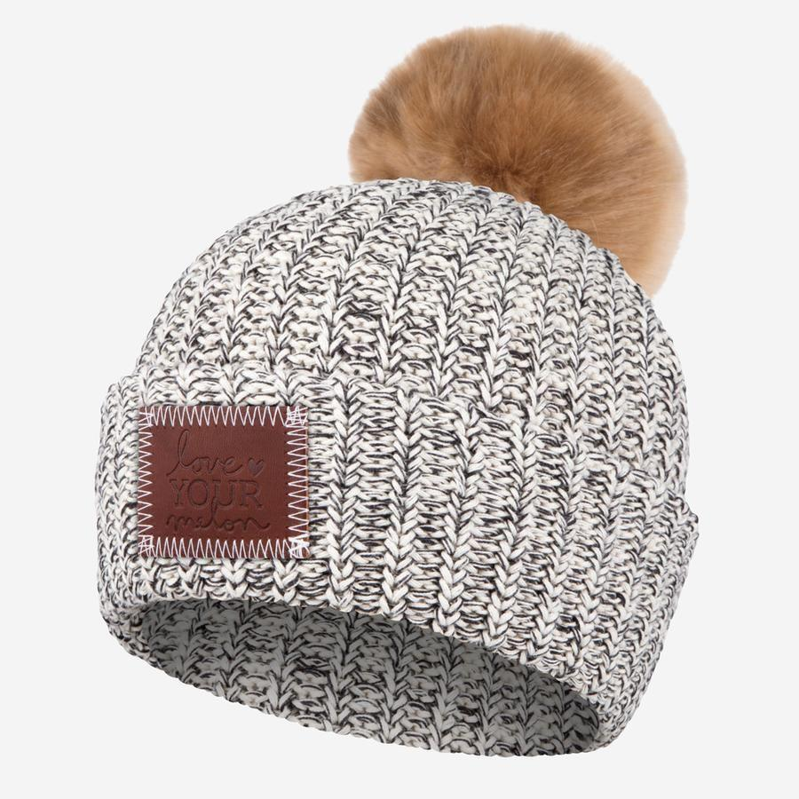 "<p>loveyourmelon.com</p><p><strong>$45.00</strong></p><p><a href=""https://loveyourmelon.com/collections/beanies/products/black-speckled-pom-beanie-natural-pom-1"" rel=""nofollow noopener"" target=""_blank"" data-ylk=""slk:Shop Now"" class=""link rapid-noclick-resp"">Shop Now</a></p><p>Reviewers raved about the quality, vibrant color of the necklace as well as the positive message. But the best part is that 50 percent of sales profits go to support charitable programming through the <a href=""https://loveyourmelon.com/pages/lym-fund-giving"" rel=""nofollow noopener"" target=""_blank"" data-ylk=""slk:Love Your Melon Fund"" class=""link rapid-noclick-resp"">Love Your Melon Fund</a>. </p>"