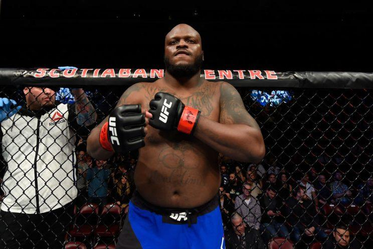 Derrick Lewis is on a six-fight win streak and is ranked sixth among UFC heavyweights. (Getty)