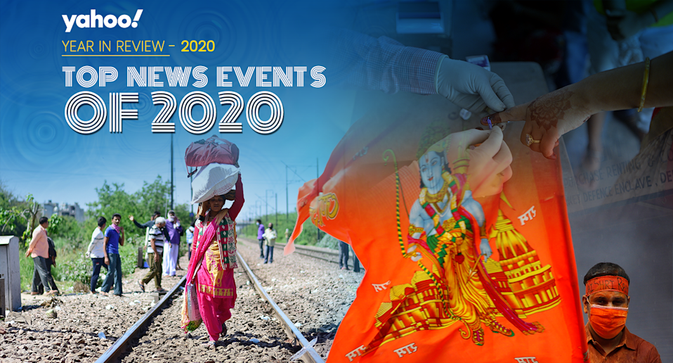 Events that made headlines in 2020