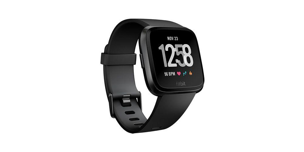"""<p><strong>Fitbit</strong></p><p>amazon.com</p><p><strong>$159.95</strong></p><p><a href=""""http://www.amazon.com/dp/B07MFZ9MHM/"""" target=""""_blank"""">Buy Now</a></p><p>Help her track more than just her latest ride with the Fitbit Versa, billed as Fitbit's """"smartwatch for women"""" due to new women's health-monitoring features. Athletes with the Versa can now not only track their periods and record symptoms, but they can also join a community of women discussing how birth control, pregnancy, menopause, and menstrual cycles affect sports performance. The watch is also simply lighter and smaller than previous Fitbit iterations, so it better fits on a more narrow wrist without forgoing the heart rate tracker.</p>"""