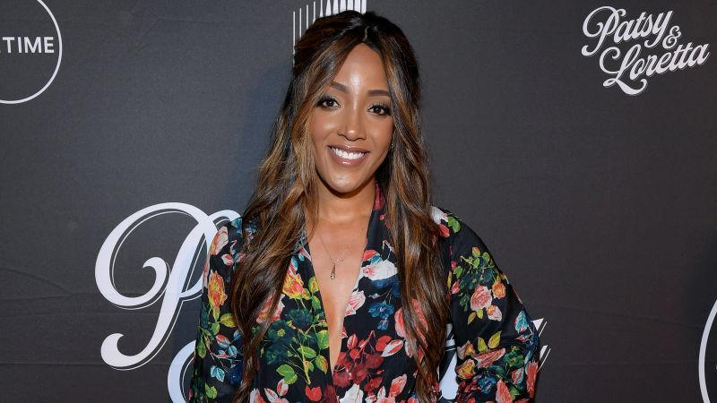 """Mickey Guyton attends a special screening and reception for """"Patsy & Loretta"""" presented by Lifetime on October 09, 2019 in Franklin, Tennessee."""