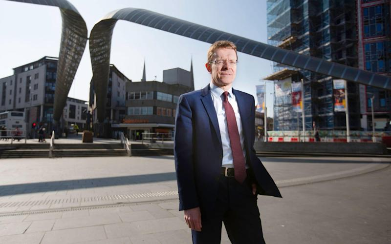 Andy Street, the former John Lewis boss who quit to run for the role - Andrew Fox