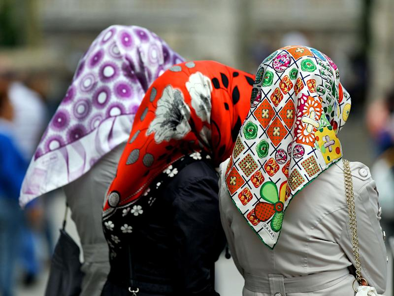 European Court of Justice ruled that companies can ban religious symbols in the workplace: AFP/Getty