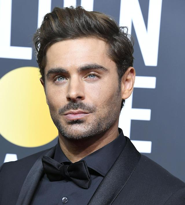 A more typical look for Zac Efron and his hair. (Photo: Steve Granitz/WireImage)