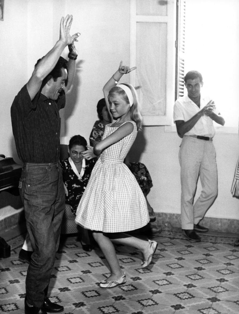 UNSPECIFIED - CIRCA 1961: Young Spanish Singer And Actress Pepa Flores Marisol Dancing In 1962. (Photo by Keystone-France/Gamma-Keystone via Getty Images)