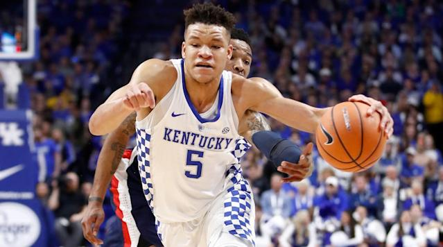"<p>The 2018 SEC tournament will take place in St. Louis and gets started on Wednesday, March 7. It will conclude on Sunday, March 11.</p><p>Auburn enters the tournament as the top seed after going 13-5 in conference play during the regular season. The Tigers are No. 16 in the country and needed a 94-84 win over Tennessee in order to claim the No. 1 seed because the Volunteers also went 13-5 in conference to earn the No. 2 seed for the tournament. Florida and Kentucky occupy the other spots in the top four, and all these teams will have double-byes and will not play until the quarterfinals.</p><p>Missouri, Arkansas, Mississippi State, Texas A&M, Alabama and LSU round out the top 10 of the conference, respectively, and they will all get their tournament started Thursday. On Wednesday, South Carolina and Ole Miss play for the right to take on Arkansas in the second round and Georgia and Vanderbilt will fight for a chance to take on Missouri.</p><p>Last year, Kentucky defeated Arkansas to win the tournament.</p><p>Below is a schedule of all the games.</p><h3><em>How to Watch</em></h3><h3>Round 1: Wednesday, March 7</h3><p><strong>Game 1:</strong> No. 12 Georgia vs. No. 13 Vanderbilt<br><strong>Time:</strong> 7 p.m. ET<br><strong>TV channel:</strong> SEC Network</p><p><strong>Game 2:</strong> No. 11 South Carolina vs. No. 14 Ole Miss<br><strong>Time:</strong> 9:25 p.m. ET or about 25 minutes after Game 1 ends<br><strong>TV channel:</strong> SEC Network</p><h3>Round 2: Thursday, March 8</h3><p><strong>Game 3:</strong> No. 8 Texas A&M vs. No. 9 Alabama<br><strong>Time:</strong> 1 p.m. ET<br><strong>TV</strong><strong> channel:</strong> SEC Network</p><p><strong>Game 4:</strong> No. 5 Missouri vs. Game 1 Winner<br><strong>Time:</strong> 3:25 p.m. ET or about 25 minutes after Game 3 ends<br><strong>TV</strong><strong> channel:</strong> SEC Network</p><p><strong>Game 5:</strong> No. 7 Mississippi State vs. No. 10 LSU <br><strong>Time:</strong> 7 p.m. ET<br><strong>TV</strong><strong> channel:</strong> SEC Network</p><p><strong>Game 6: </strong>No. 6 Arkansas vs. Game 2 Winner<br><strong>Time</strong><strong>:</strong> 9:25 p.m. ET or about 25 minutes after Game 5 ends<br><strong>TV channel:</strong> SEC Network</p><h3>Quarterfinals: Friday, March 9</h3><p><strong>Game 7</strong>: No. 1 Auburn vs. Game 3 Winner<br><strong>Time</strong><strong>:</strong> 1 p.m. ET<br><strong>TV</strong><strong> channel:</strong> ESPN</p><p><strong>Game 8: </strong>No. 4 Kentucky vs. Game 4 Winner<br><strong>Time:</strong> 3:25 p.m. ET or about 25 minutes after Game 7 ends<br><strong>TV</strong><strong> channel:</strong> ESPN</p><p><strong>Game 9:</strong> No. 2 Tennessee vs. Game 5 Winner<br><strong>Time</strong><strong>:</strong> 7 p.m. ET<br><strong>TV</strong><strong> channel:</strong> SEC Network</p><p><strong>Game 10:</strong> No. 3 Florida vs. Game 6 Winner<br><strong>Time</strong><strong>:</strong> 9:25 p.m. ET or about 25 minutes after Game 9 ends<br><strong>TV</strong><strong> channel:</strong> SEC Network</p><h3>Semifinals: Saturday March 10</h3><p><strong>Game 11:</strong> Game 7 Winner vs. Game 8 Winner<br><strong>Time</strong><strong>:</strong> 1 p.m. ET<br><strong>TV</strong><strong> channel:</strong> ESPN</p><p><strong>Game 12:</strong> Game 9 Winner vs. Game 10 Winner<br><strong>Time</strong><strong>:</strong> 3:25 p.m. or about 25 minutes after Game 11 ends<br><strong>TV channel:</strong> ESPN</p><h3>Championship: Sunday, March 11</h3><p>Game 11 Winner vs. Game 12 Winner<br><strong>Time:</strong> 1 p.m. ET<br><strong>TV</strong><strong> channel:</strong> ESPN</p><p>All games can be streamed online through <a href=""http://www.espn.com/watch/"" rel=""nofollow noopener"" target=""_blank"" data-ylk=""slk:WatchESPN"" class=""link rapid-noclick-resp"">WatchESPN</a>.</p>"