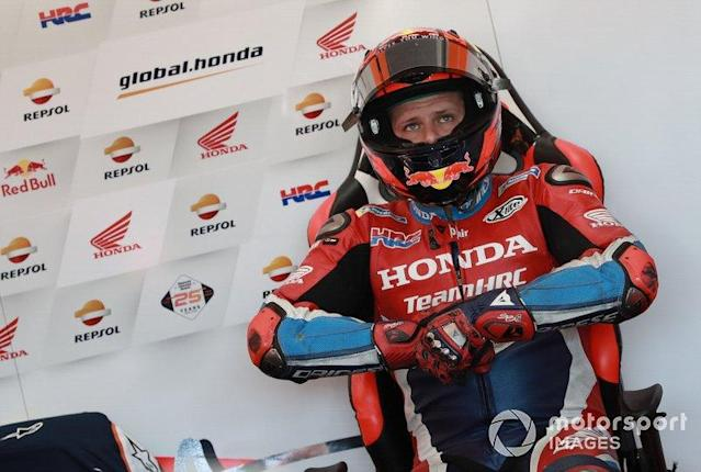 "Stefan Bradl, HRC Honda Team <span class=""copyright"">Gold and Goose / Motorsport Images</span>"