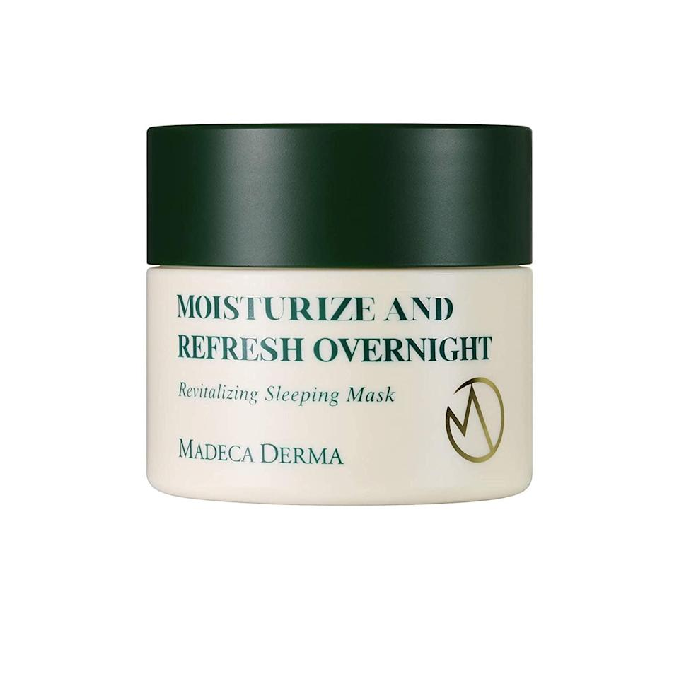 <p><span>Madeca Derma Revitalizing Sleeping Mask</span> ($17, originally $28)</p>