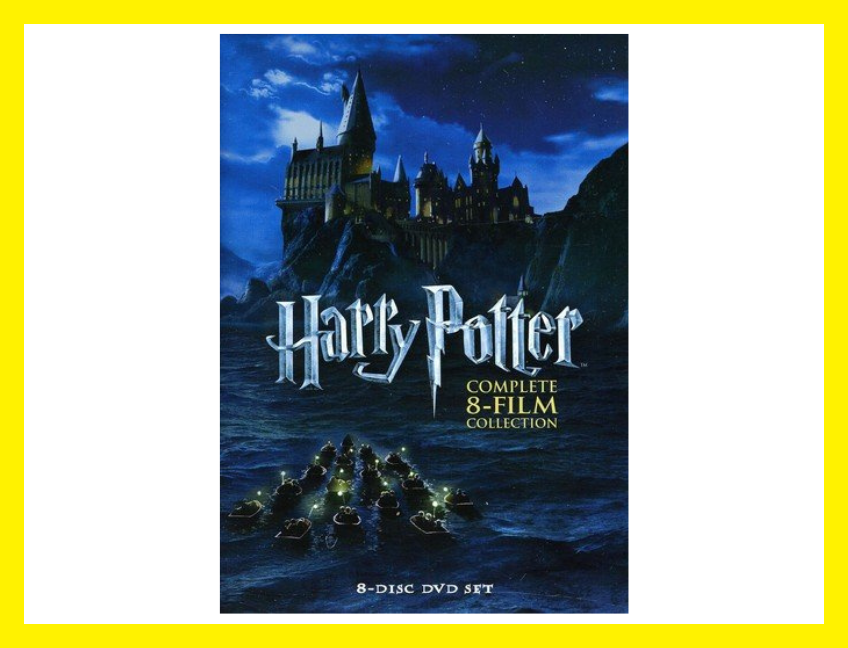 Save 45 percent on the Harry Potter: The Complete 8-Film Collection on DVD, today only! (Photo: Amazon)