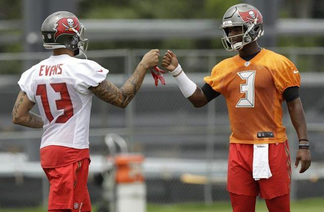 In Mike Evans, Jameis Winston has a weapon to take his game – and the Bucs – to another level. (AP)