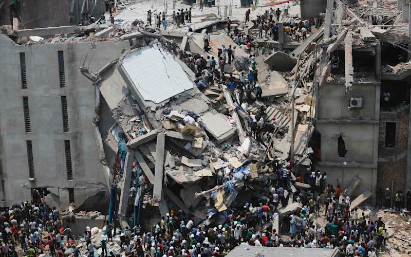 The Rana Plaza collapse was the deadliest garment industry disaster ever - Reuters
