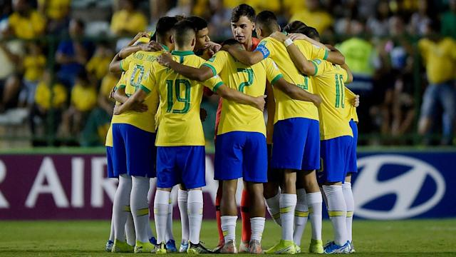 A 93rd-minute goal secured more under-17 glory for Brazil on Sunday.