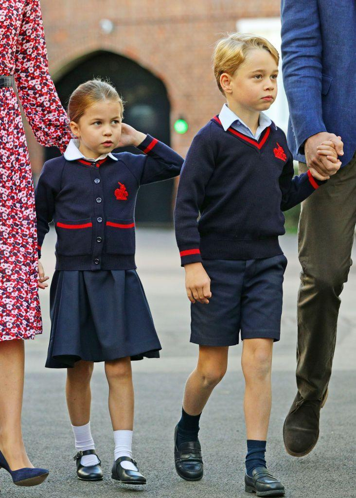 "<p>But despite her shyness, Charlotte is ""very excited"" to be starting school with her older brother this year. Hopefully Prince George will show her the ropes!</p>"