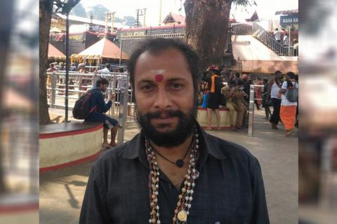 Binil Somasundaram was arrested for his Facebook post, now deleted, which said that because of the child's religion, the Kerala government stepped in to help.