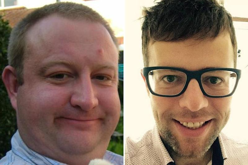 Victims: Oliver Speke and Edgaras Cepura (right) died this year on the same stretch of road