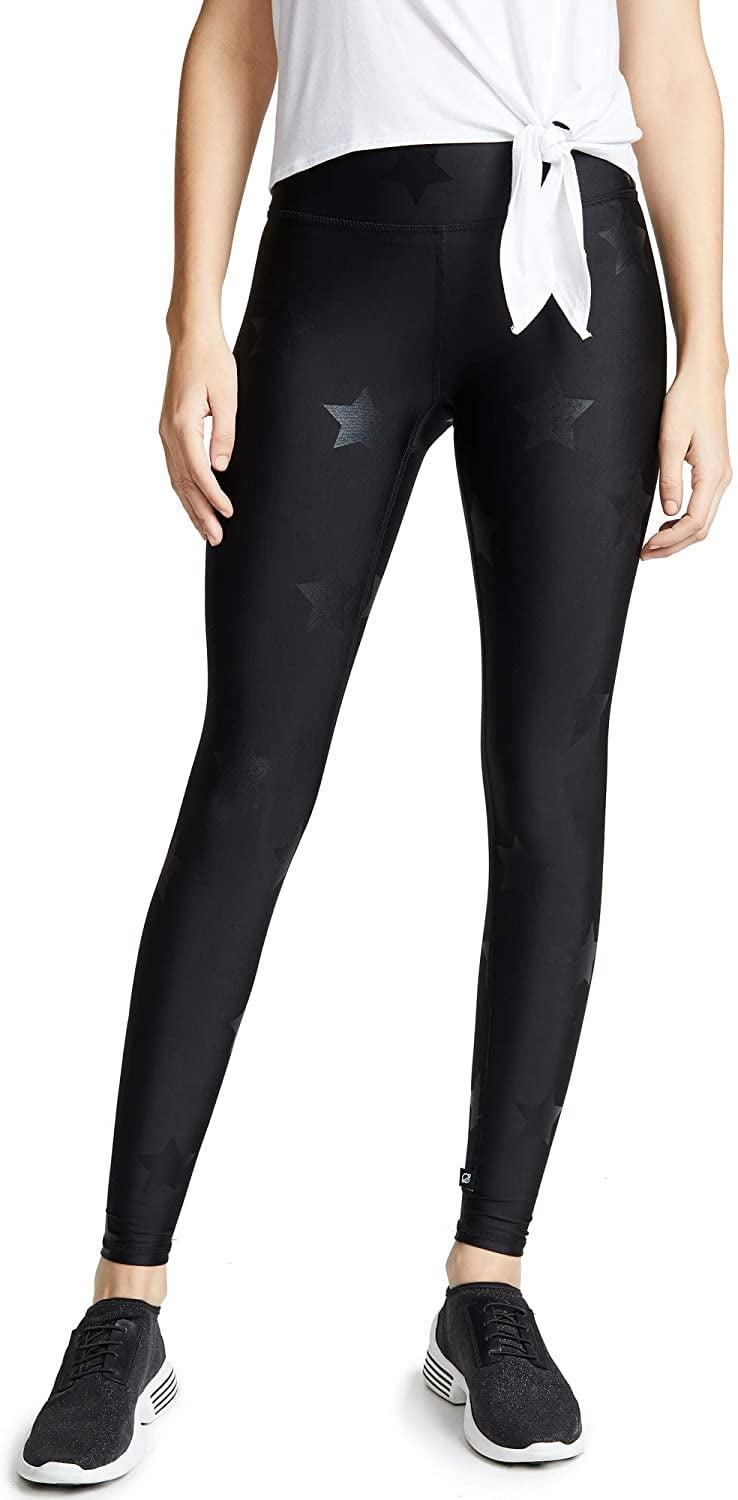 <p>How cute are these <span>Terez Star Foil Printed Tall Band Leggings</span> ($100)? They're super flattering, and if you feel like splurging, these are the ones to grab.</p>