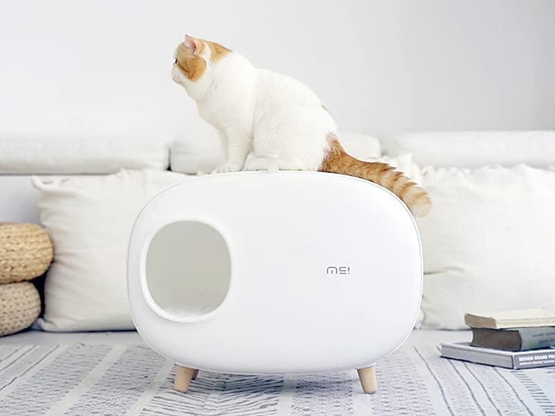 <p>The <span>MS Cat Litter Box </span> ($140) is a chic cat litter that can actually go with your aesthetic. It has an enclosed design that is easy to clean and prevents sand leakage.</p>