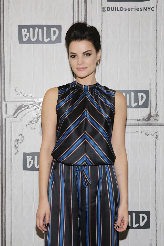 Jaimie Alexander, on the set of Build Series NYC in October, talks about sexual misconduct in Hollywood. (Photo: Mireya Acierto/FilmMagic)