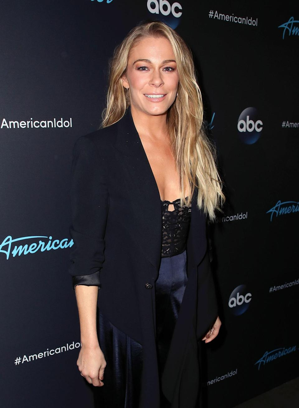 LeAnn Rimes at ABC's <em>American Idol</em> finale on May 21 in Los Angeles. (Photo: David Livingston/Getty Images)