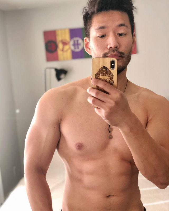 """<p>If you thought Kevin took his shirt off a lot on the show, just wait 'til you see him on social media. Interestingly, in addition to promoting himself and his modeling career, he's also made himself into something of a dating guru for Tiktok, sharing videos like """"3 Things That Guys Do That Drive Girls Crazy But Guys Don't Know About"""" and """"Secrets to Dating an Asian Guy (Part 1)."""" (He then reposts them on Instagram.)</p><p><a href=""""https://www.instagram.com/p/CH_hYxVH6dL/?utm_source=ig_embed&utm_campaign=loading"""" rel=""""nofollow noopener"""" target=""""_blank"""" data-ylk=""""slk:See the original post on Instagram"""" class=""""link rapid-noclick-resp"""">See the original post on Instagram</a></p>"""