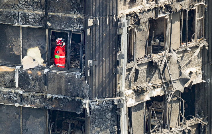 At least 79 people have died following the fire at the London tower block (Rex)