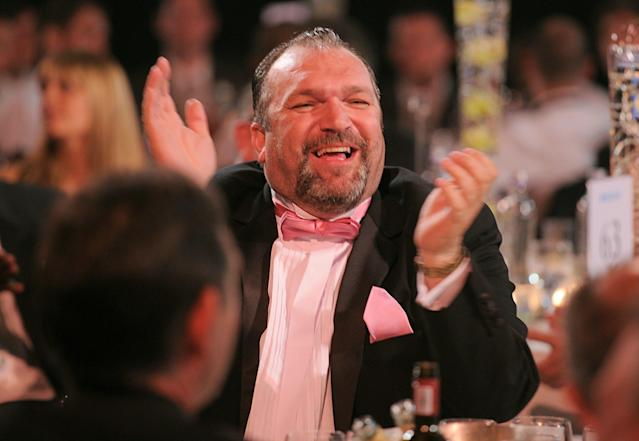 Neil Ruddock at the PFA Player of the Year Awards 2010 at the Grosvenor House Hotel, London. (Photo by Jon Buckle - PA Images via Getty Images)