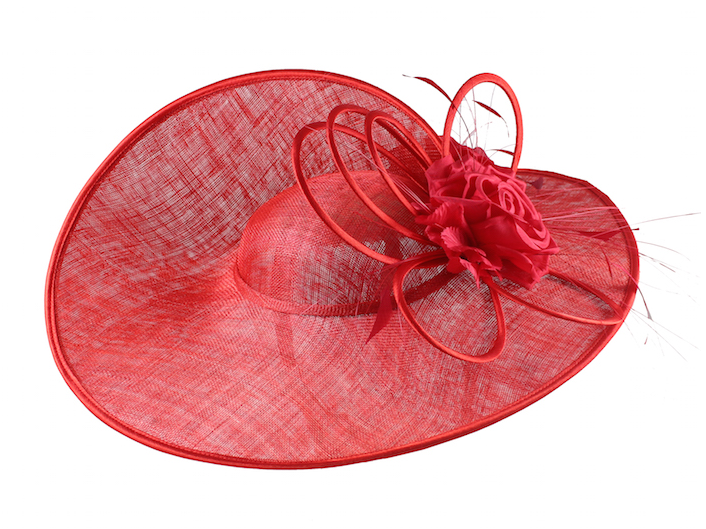Maddox Bella hat in Tulip, Whiteleys hats, £140. Available on thehatplace.com