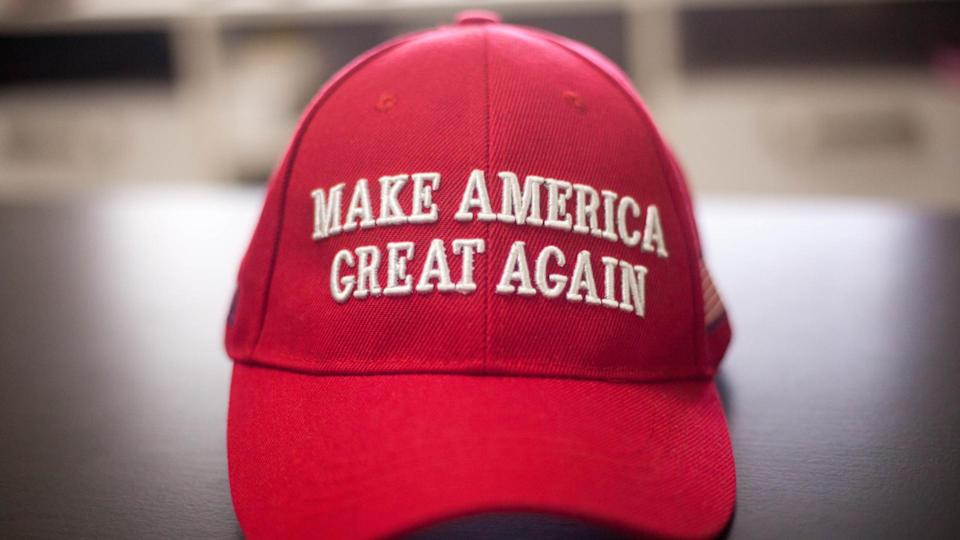 Make America Great Again Hat shutterstock_1580390440