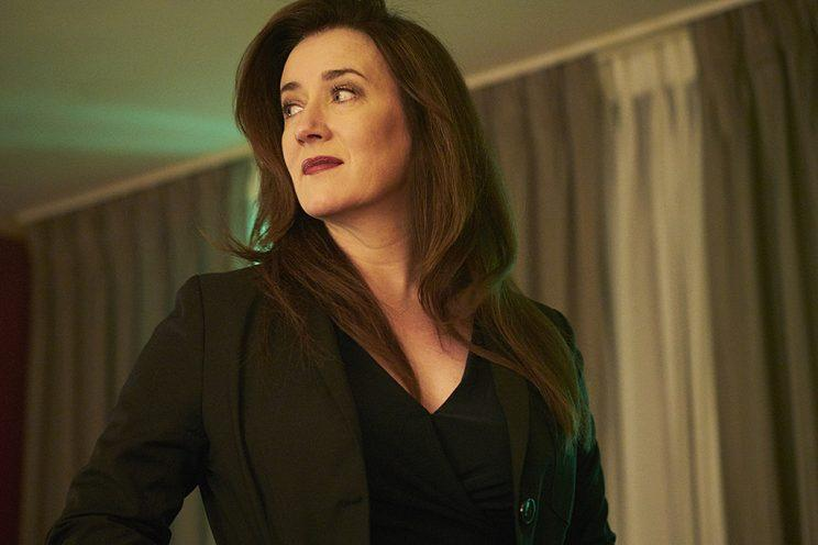 Maria Doyle Kennedy as Mrs. S in BBC America's Orphan Black . (Photo Credit: Ken Woroner/BBC America)