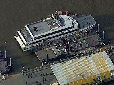 Raw: N.Y. Ferry Accident