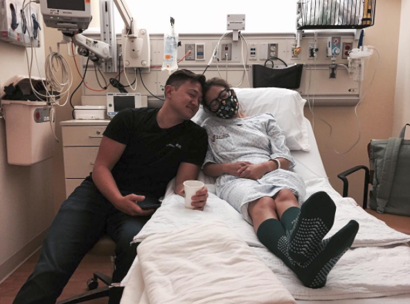 Caleigh shared her heartbreaking news about her transplant last week. Photo: Instagram