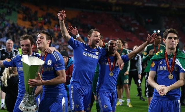 Chelsea won the Europa League the following year (John Walton/PA)