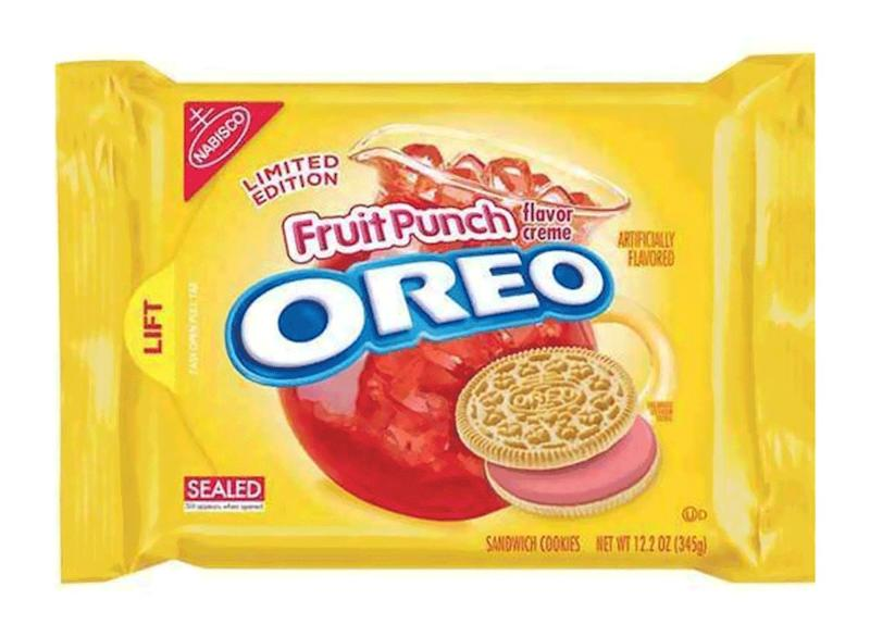 fruit punch oreo pack limited edition
