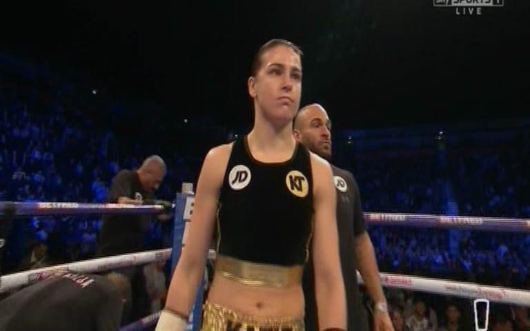 katie taylor - Credit: sky sports