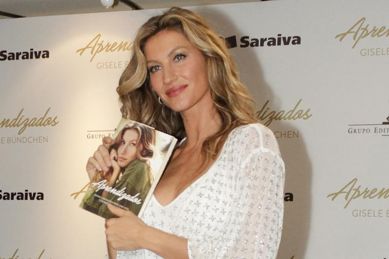 bb3fae799 Gisele Bündchen is back in her home country. The super model made an  appearance in Sao Paulo