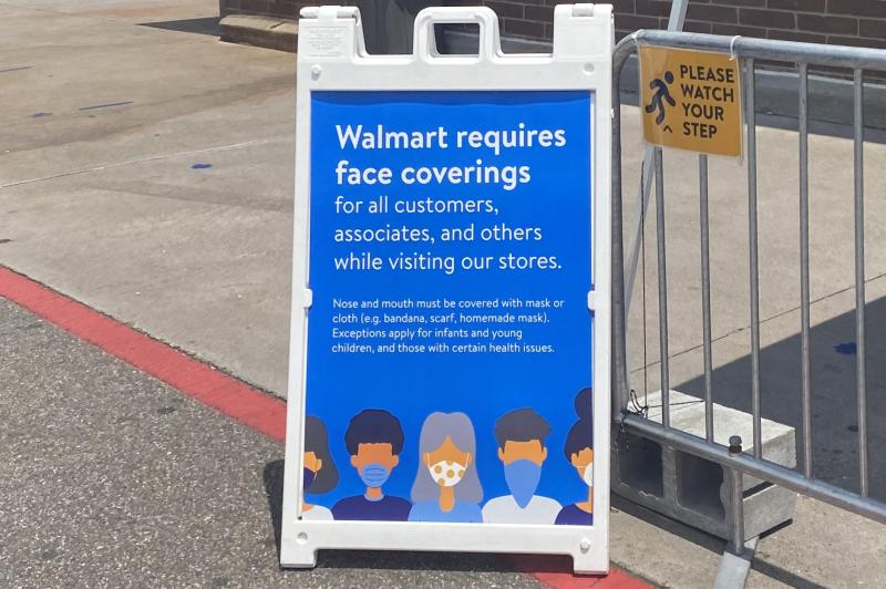 New rules at Wal-Mart. (Yahoo News)