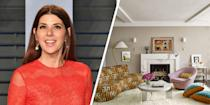 "<p>Step inside actress Marisa Tomei's <a href=""https://www.elledecor.com/design-decorate/house-interiors/a8217/marisa-tomei-manhattan-apartment/"" rel=""nofollow noopener"" target=""_blank"" data-ylk=""slk:Manhattan apartment"" class=""link rapid-noclick-resp"">Manhattan apartment</a> and you'll find nothing but elevated design and chic furniture, including a vintage marble-topped dining table and a pink Milo Baughman swivel chair. The star, who admits to having a serious furniture addiction, even chose to purchase the apartment next door to indulge in her passion for statement decor finds. <br></p>"